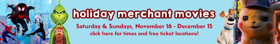 Banner image for holiday merchant movies