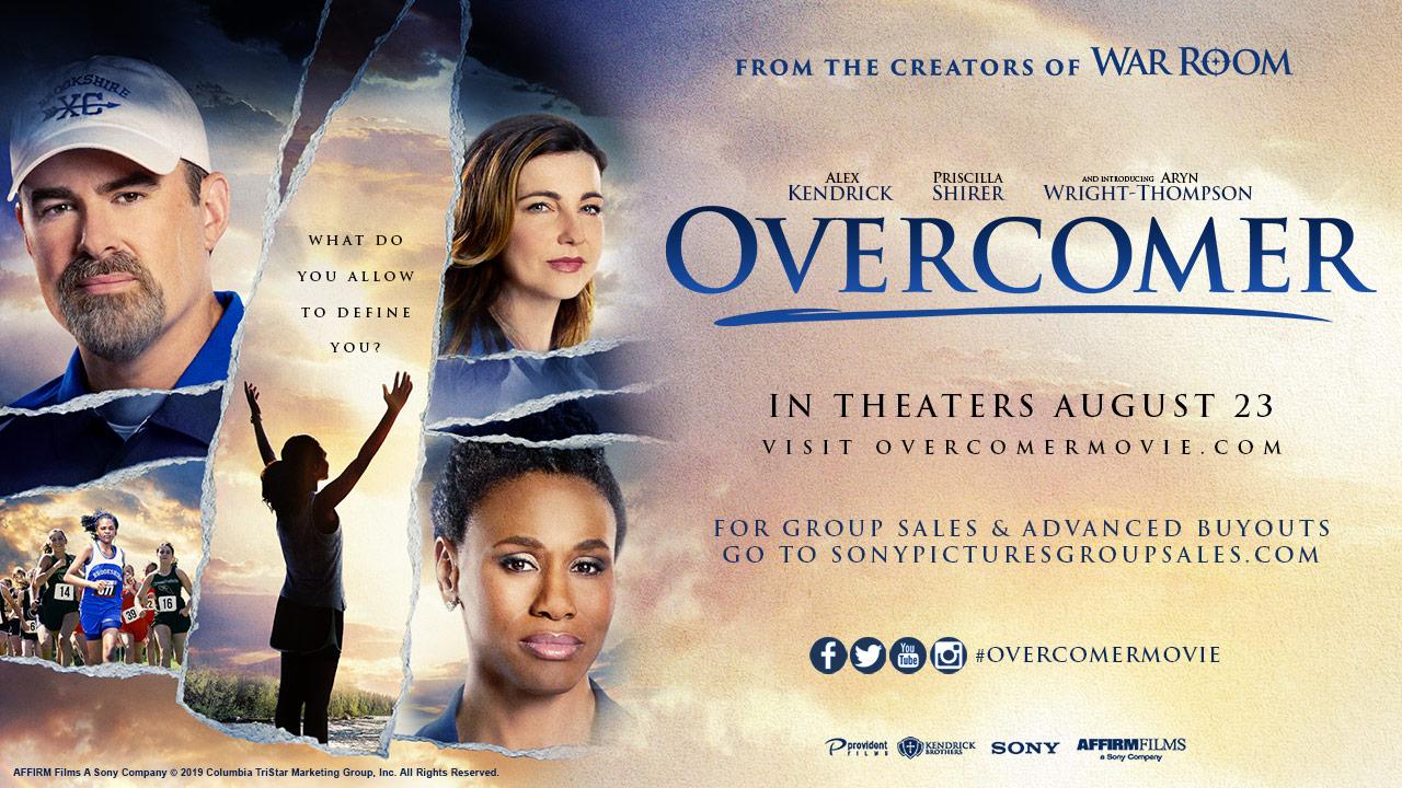Overcome banner