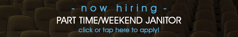 Now hiring part time/weekend janitor - click here