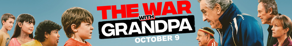War with Grandpa - October 9 - click here for more information