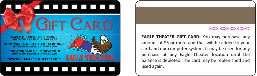 Eagle Gift & Rewards Card