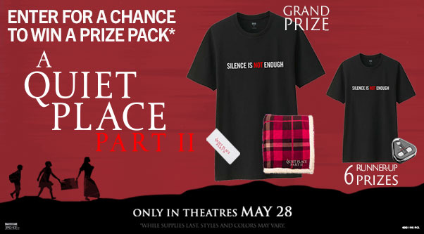 Quiet Place Two Contest