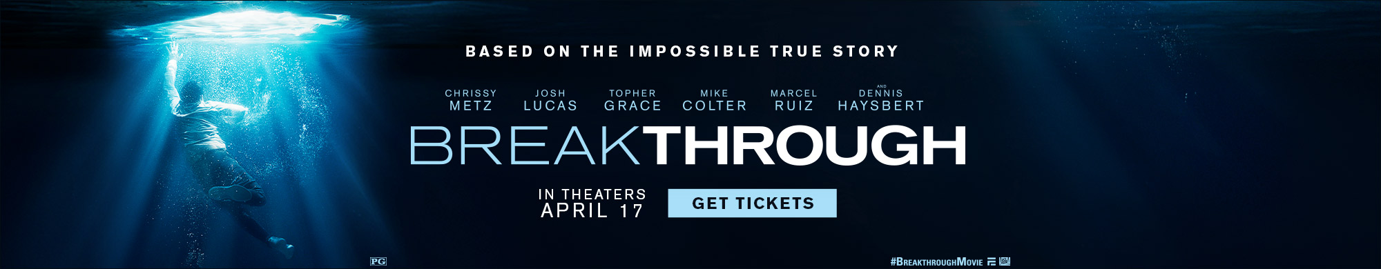 Breakthrough now on sale