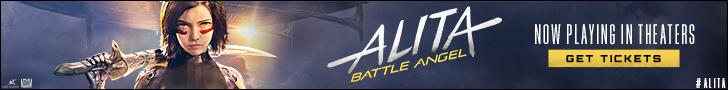 Alita: Battle Angel Starts Thursday