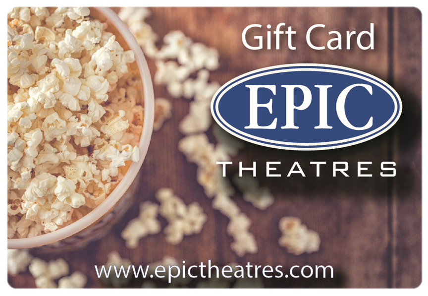 Gift Cards | Epic Theatres