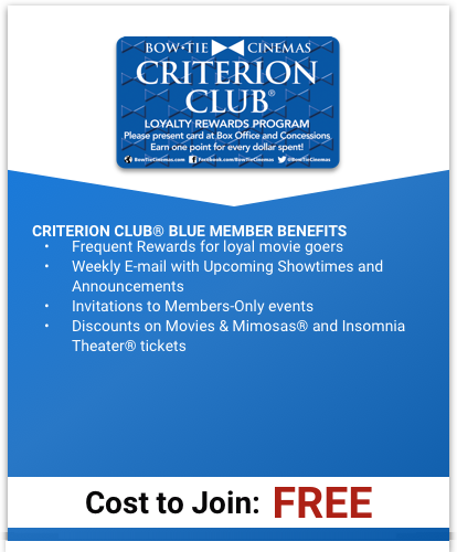 Criterion Club Blue Program