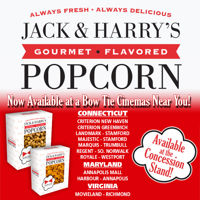 Jack and Harrys Gourmet Flavored Popcorn