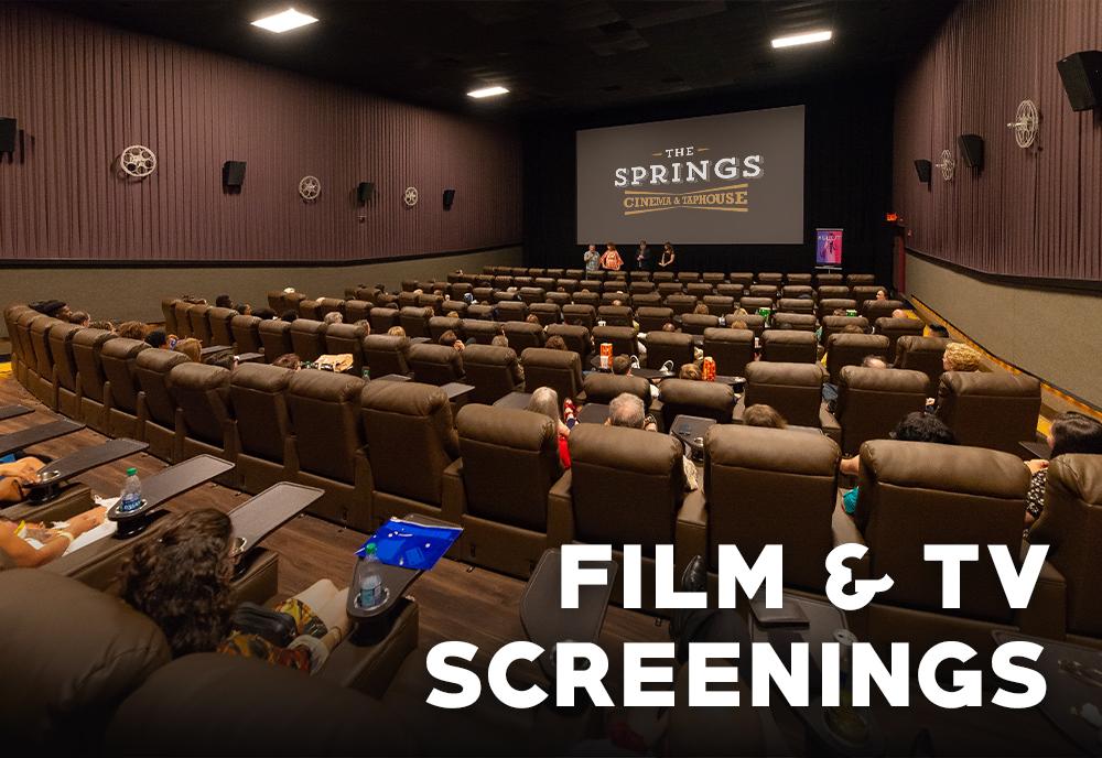 Film and TV Screenings