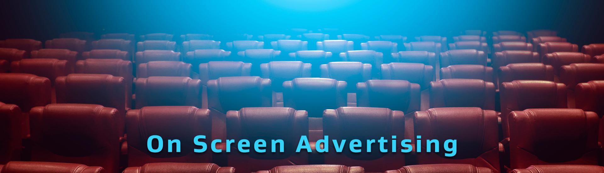 Desktop hero image for On Screen Advertising