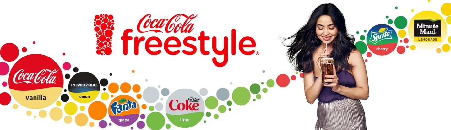 Desktop hero image for Coca Cola Freestyle