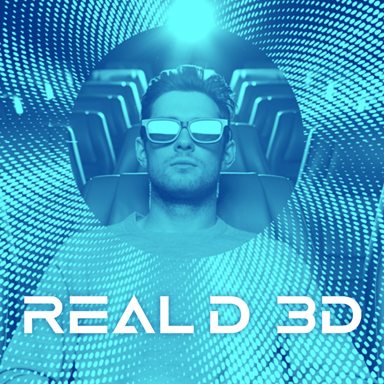 Mobile hero image for Real D 3D